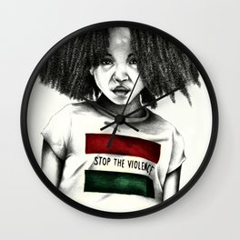 Stop the Violence Wall Clock