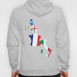Map Of She Six Highest Ranked Rugby Teams Hoody