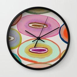 circled around Wall Clock