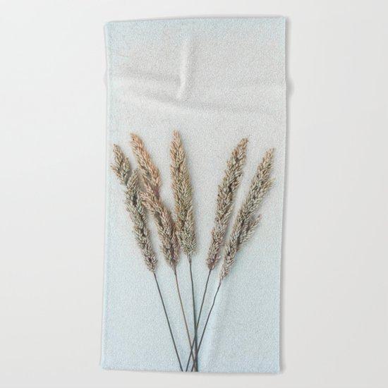 Summer Grass II Beach Towel