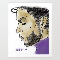 Legends Never Die : Prince  Art Print