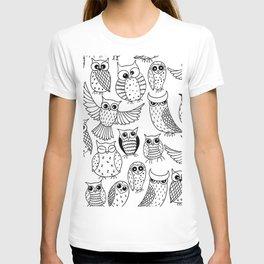 Funny owls T-shirt