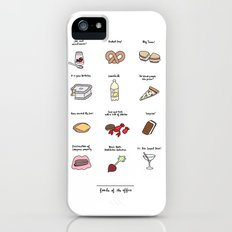 Foods of The Office iPhone (5, 5s) Slim Case