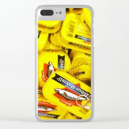 Tinned mackerel Clear iPhone Case