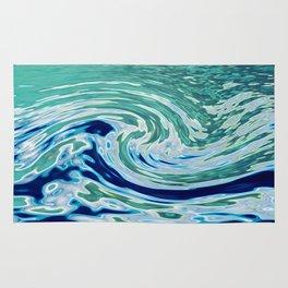 OCEAN ABSTRACT 2 Rug