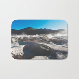 Geysers in the Atacama Desert, Bolivia Bath Mat
