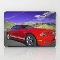 mustang iPad Cases featuring Mustang Coupe by Rob Hawkins Photography