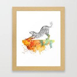 Jag Rise Framed Art Print