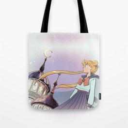 Moonlight Legend · Night Version Tote Bag