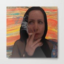 Heather Mooney - The Smoke Metal Print