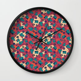 Lady Buggies Wall Clock