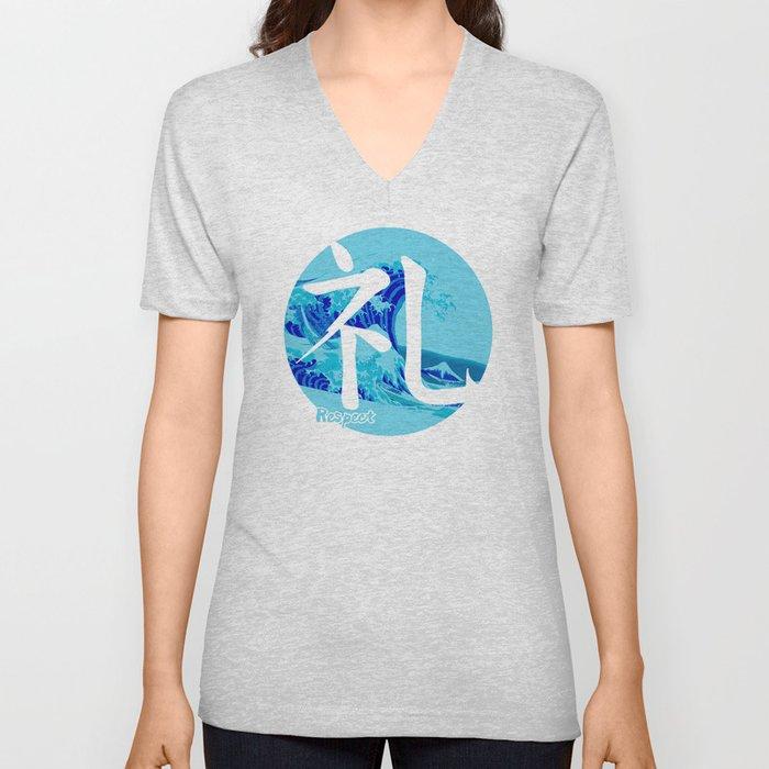 Rei - Respect Unisex V-Neck