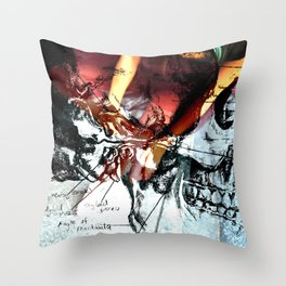 styloid process Throw Pillow