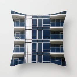 San Francisco Building Throw Pillow