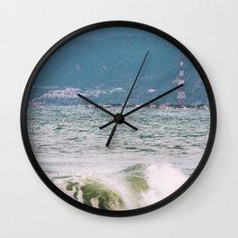 """""""Scilla and Cariddi """" - Sicily and Calabria Wall Clock"""