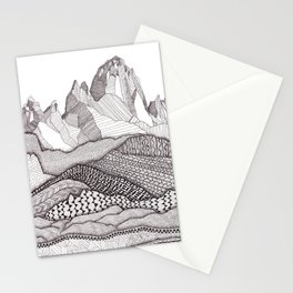 Patterns on Patagonia Stationery Cards