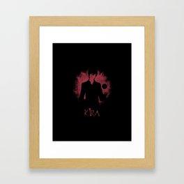 I Am Justice! Kira Framed Art Print