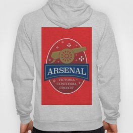 North London Red Football Hoody