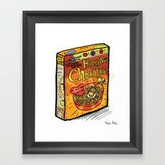 Honey Nut Cheerios Framed Art Print