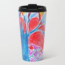 Abstract Tree Travel Mug