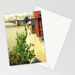 Along the River Thames. Stationery Cards