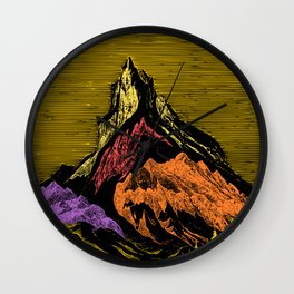 The Acid Peak of Tempests Wall Clock