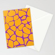 Neon Giraffe Stationery Cards