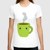 mug T-shirts featuring MUG by Mimoonx