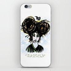 Bird's Nest Hair iPhone & iPod Skin