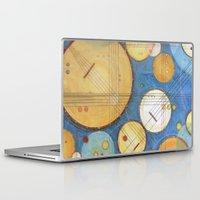 kandinsky Laptop & iPad Skins featuring doodling banjos by Beth Jorgensen