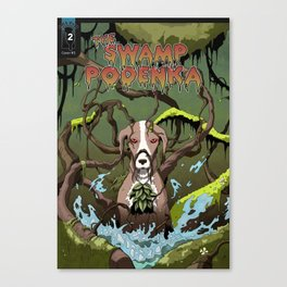 Swamp Podenka Canvas Print