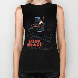 Book Mark Biker Tank