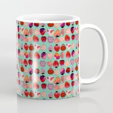 Strawberry Pattern Mug