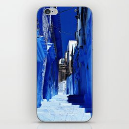 Chaouen stairs iPhone Skin