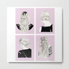 Blondies - ALL Metal Print