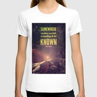 sagan T-shirts featuring Space Exploration (Carl Sagan Quote) by taudalpoiart