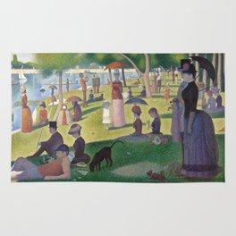 Georges Seurat - A Sunday Afternoon on the Island of La Grande Jatte Rug