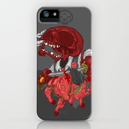 The Four Horsemen of the Apocalypse (Red) iPhone Case
