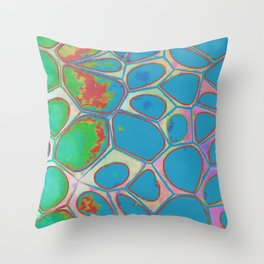 Modern Abstract Painting Two Throw Pillow