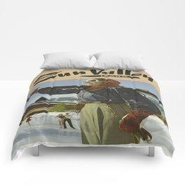 Vintage poster - Sun Valley Comforters