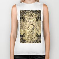 decorative Biker Tanks featuring Decorative pattern by nicky2342