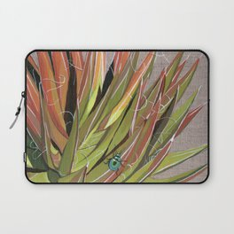 Yucca filifera with beetle Laptop Sleeve