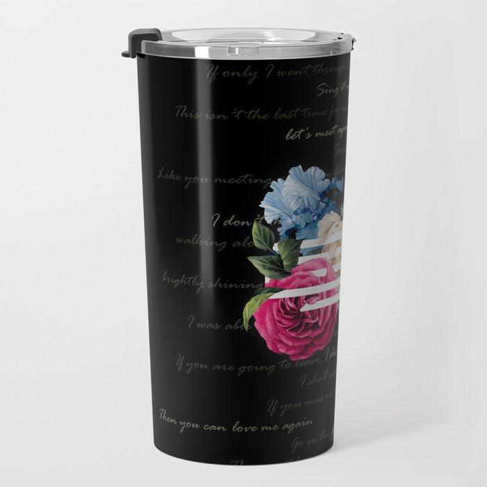 BIGBANG Flower Road LY Travel Mug