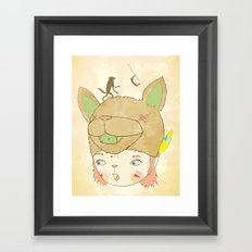 왕좌의 귀환 : RETURN OF THE THRONE Framed Art Print