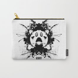 Kirby Ink Blot Geek Psychological Disorders Carry-All Pouch