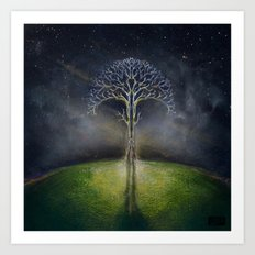 Treelogy 2 Art Print