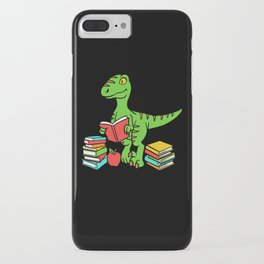 Velocireader Dinosaurs School School Books Motif iPhone Case