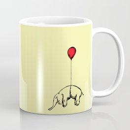 Red Elephant Coffee Mug