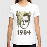 1984 T-shirts featuring 1984 by Eric Fan