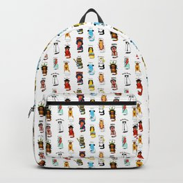 Famous Music Cats – Most Popular Musicians of the World Backpack